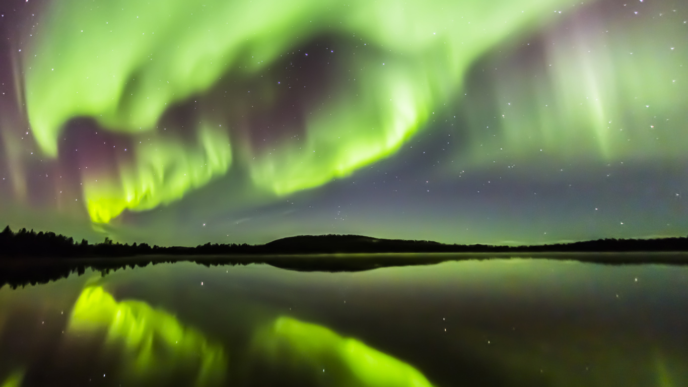 Eight Months Of Incredible Northern Lights.