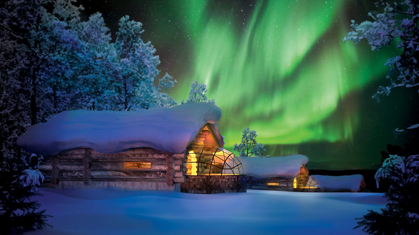 Image result for igloo lapland christmas