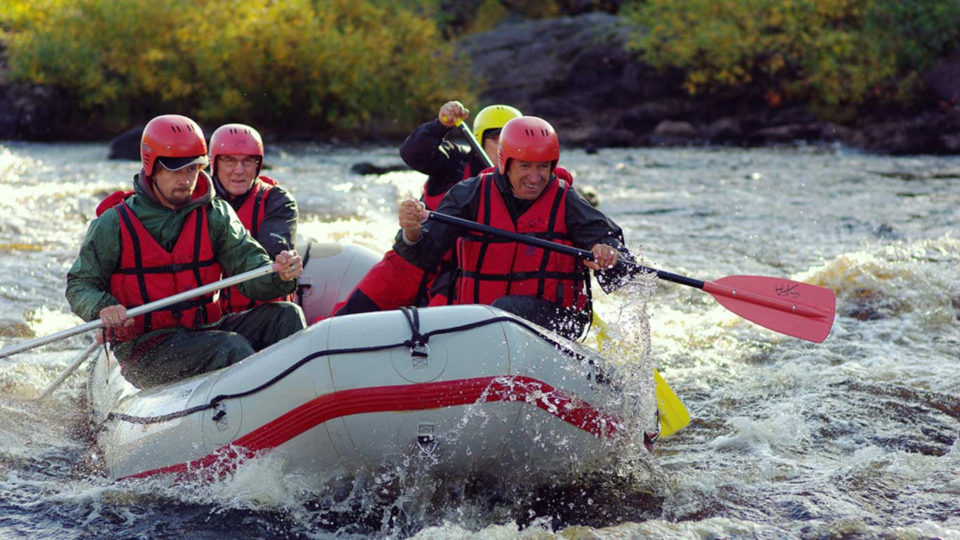 Canoeing and whitewater kayaking