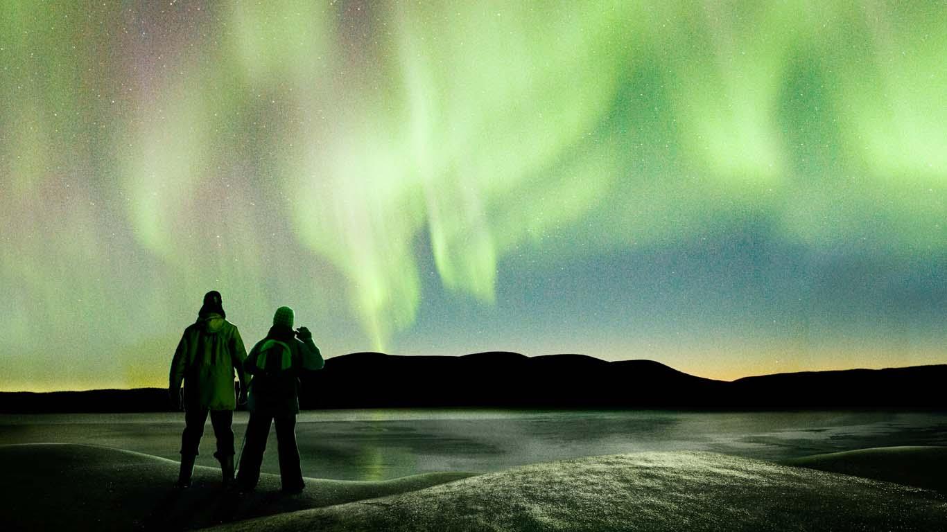 Tras la aurora boreal