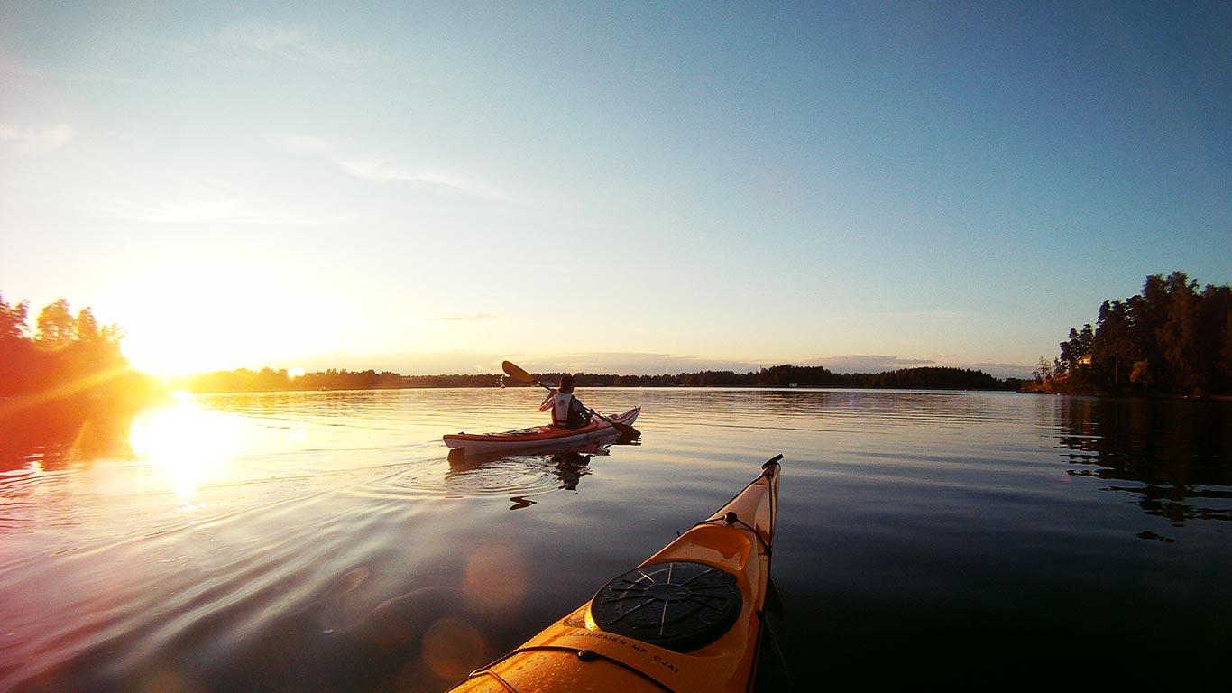 Canoeing And Whitewater Kayaking Kakslauttanen